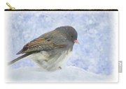 Dark Eyed Junco - Digital Paint Carry-all Pouch