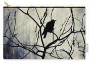 Crow In Dark Lights Carry-all Pouch