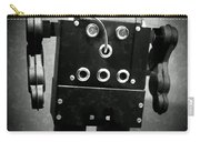 Dark Metal Robot Oil Carry-all Pouch