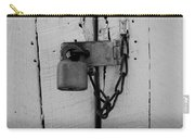 Dark Padlocked Carry-all Pouch