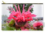 Dark Pink Bergamot Carry-all Pouch