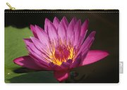 Dark Pink Waterlily...   # Carry-all Pouch