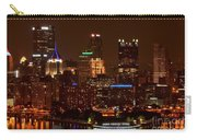 Dark Pittsburgh Skyline Carry-all Pouch