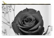Dark Rose Sq Carry-all Pouch