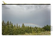 Dark Skies With Rainbow Carry-all Pouch
