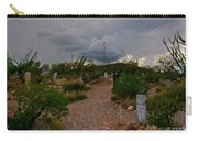 Dark Sky Over Tombstone Carry-all Pouch