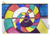 Dark Spiral Rainbow Road Carry-all Pouch