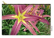 Dark Star Daylilies Carry-all Pouch