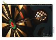 Dart Board In Bar Carry-all Pouch