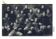 Dartmouth Football Team 1901 Carry-all Pouch by Edward Fielding