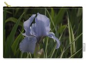 Dashing Pale Violet Iris Carry-all Pouch