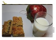 Date Squares - Snack - Dessert - Milk Carry-all Pouch