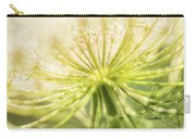Daucus Carota - Queen Anne's Lace - Wildflower Carry-all Pouch