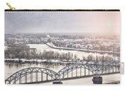 Daugava Railway Bridge Carry-all Pouch