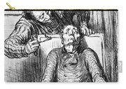 Daumier: Dentist, 1864 Carry-all Pouch