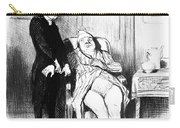 Daumier: Doctor Cartoon Carry-all Pouch