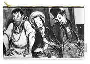 Daumier Omnibus, 1841 Carry-all Pouch