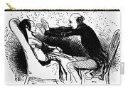 Daumier: The Hypnotist Carry-all Pouch