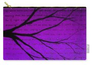 Dave Matthews Band Crush Lyric Art - Purple Carry-all Pouch