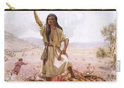 David And Goliath Carry-all Pouch by William Brassey Hole
