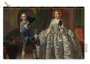 David Garrick And Mrs. Pritchard In Benjamin Hoadley's The Suspicious Husband  Carry-all Pouch