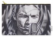 David Gilmour Of Pink Floyd - Echoes Carry-all Pouch by Sean Connolly
