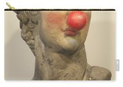 David With Makeup And Clown Nose 1 Carry-all Pouch