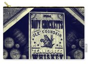 Davy Crocketts Tennessee Whiskey Carry-all Pouch