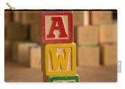 Dawn - Alphabet Blocks Carry-all Pouch