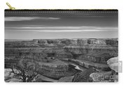 Dawn At Dead Horse Point Bw Carry-all Pouch