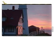 Dawn At Portland Lighthouse Carry-all Pouch