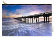 Dawn At The Juno Beach Pier Carry-all Pouch