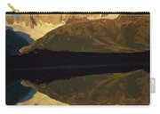 Dawn Fitzroy Massif Reflection Patagonia Carry-all Pouch