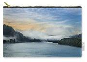 Dawn Fog On Klamath River Carry-all Pouch