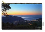 dawn in Elba island Carry-all Pouch