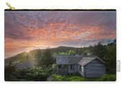 Dawn Over Leconte Carry-all Pouch by Debra and Dave Vanderlaan