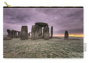 Dawn Over The Stones  Carry-all Pouch