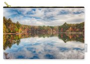 Dawn Reflection Of Fall Colors Carry-all Pouch