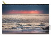 Dawns Red Sky Reflected Carry-all Pouch