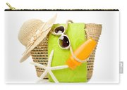 Day At The Beach Carry-all Pouch by Amanda Elwell