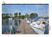 Sailboats On The Boardwalk Carry-all Pouch