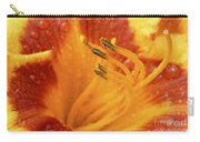 Day Lily In The Rain - 688 Carry-all Pouch