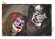 Day Of The Dead Good Vs Evil Carry-all Pouch