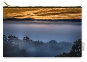Daybreak Coming To The Smoky Mountains E150 Carry-all Pouch