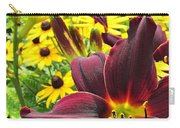Daylilies And Rudbeckia Carry-all Pouch