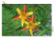 Frans Hall Daylily Attention Getter Carry-all Pouch