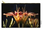 Daylily Doubled Carry-all Pouch
