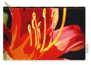 Daylily Flame Carry-all Pouch