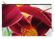 Daylily Twice Carry-all Pouch