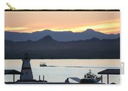 Days End At The Lake Carry-all Pouch